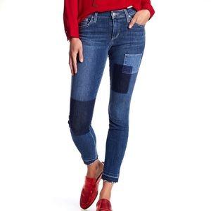 Joe's Jeans Ankle Skinny Patch Jeans